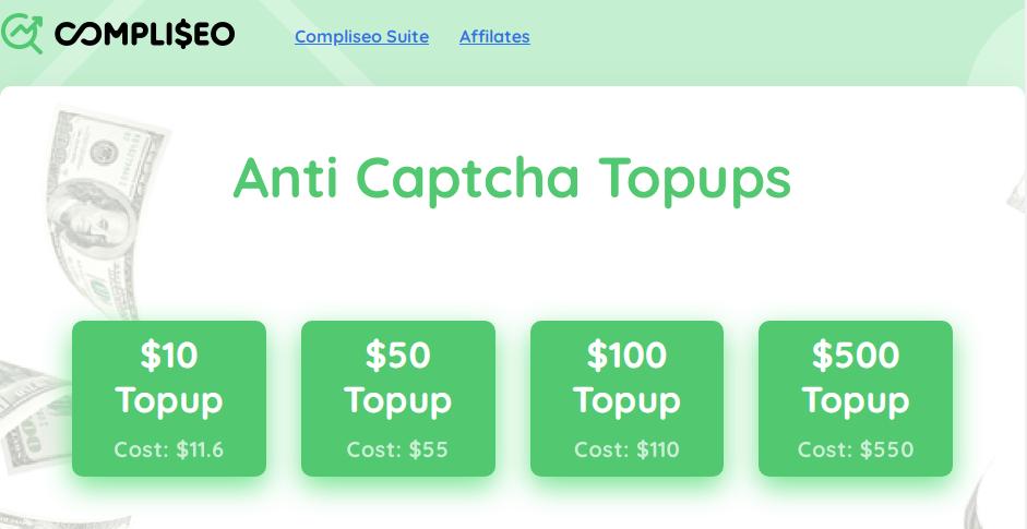 Anti Captchah決済手段PayPalリセラーページ