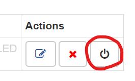 Modify Headers for Google Chrome行の設定反映ボタン