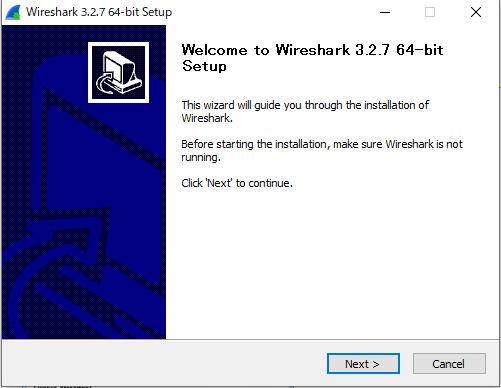 Wiresharkインストールその1