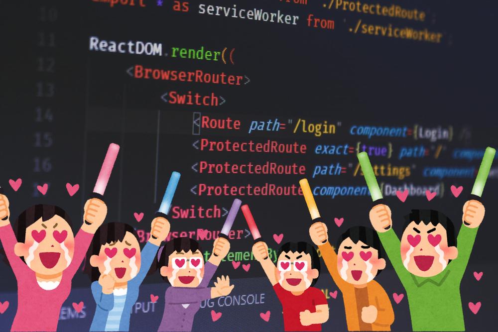人気のJavaScriptフレームワークを教えます【jQueryとReactです】