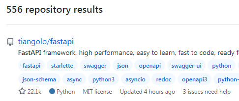 Python FastAPI