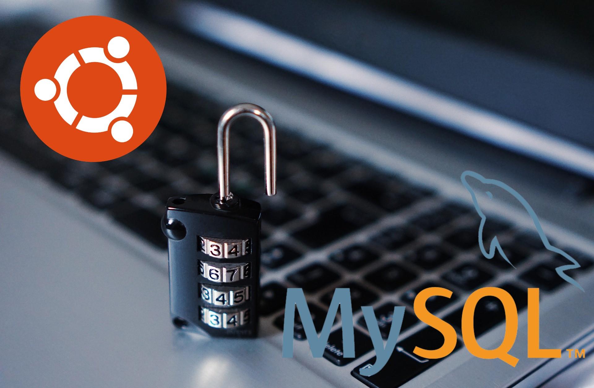 Ubuntu 21.04に最新版のMySQL 8.0をインストール