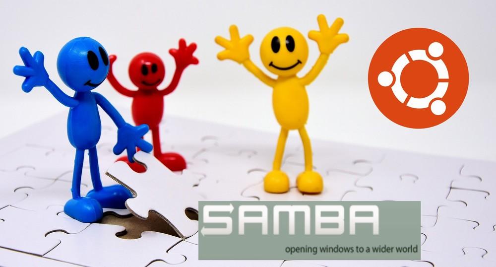 【Ubuntu】Sambaの設定(ユーザー追加・パスワード設定など)