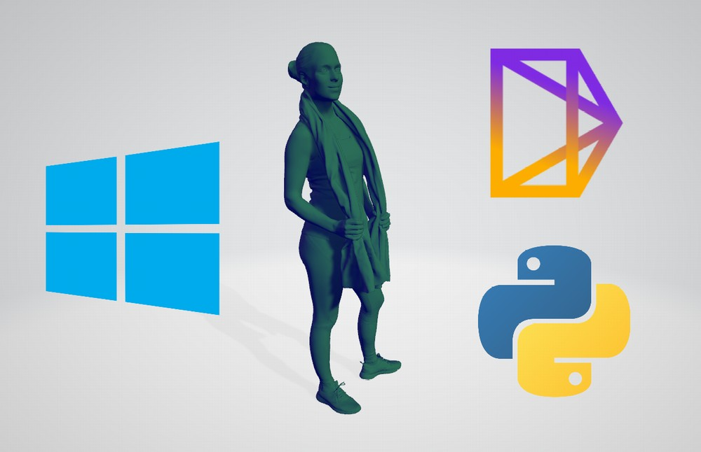 【Python】PyTorch3DをWindowsにインストールする